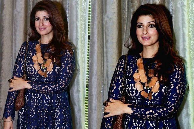 Twinkle khanna assiste programas de sensibilização social no estilo