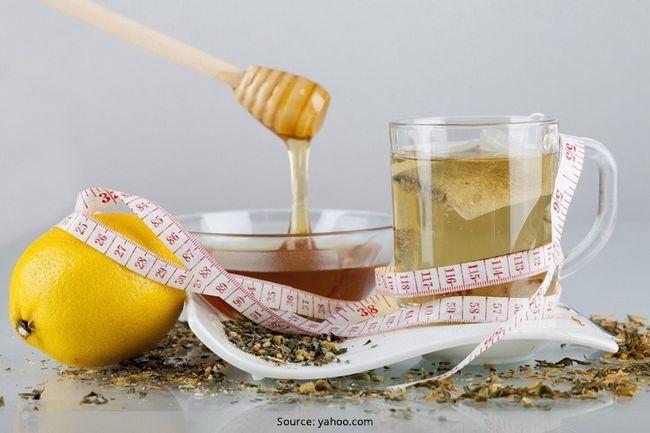Tipos de chás de ervas para perda de peso e de defesa da pele