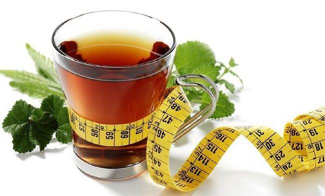Chás de ervas perda de peso