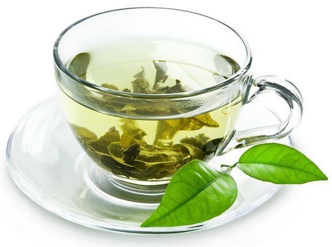 Beber chá para perda de peso