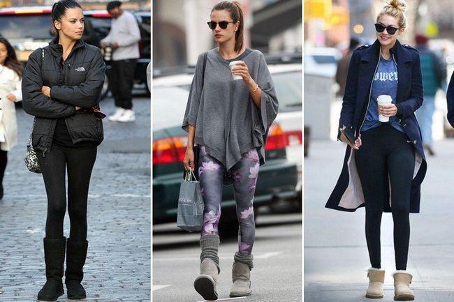 Ugg Boots com leggings