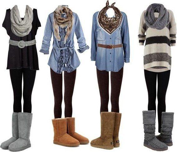 Como vestir Uggs