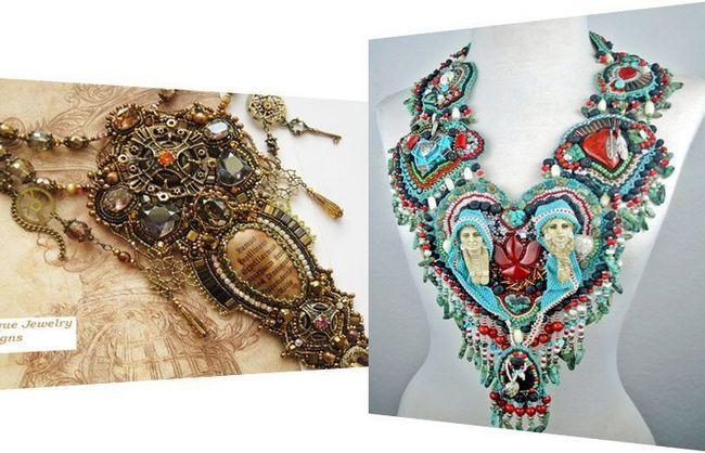 Originais artesanal jóias Designs