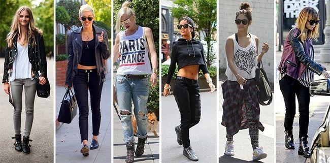 Melhores maneiras de vestir Grunge