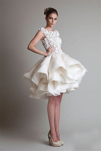 Andar vestido de noiva varrição