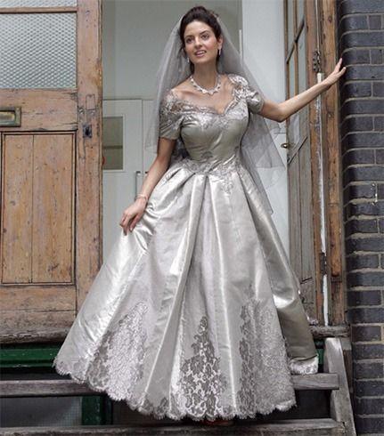 vestido de casamento da platina