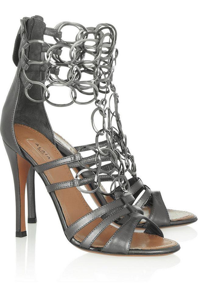 Atualize seu estilo com estes sapatos metálicos super-chic & vestido para a primavera / verão 2014