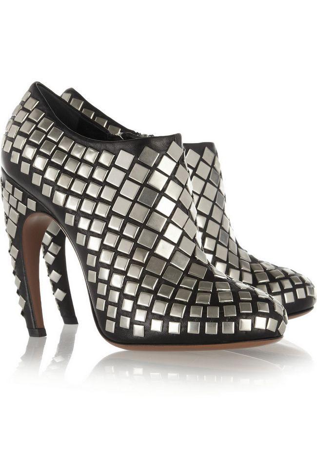 Alaïa embelezado sandálias de couro
