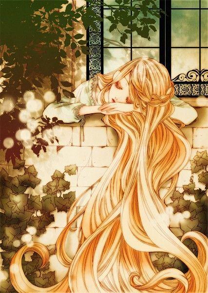 Adorável longo e cabelo forte