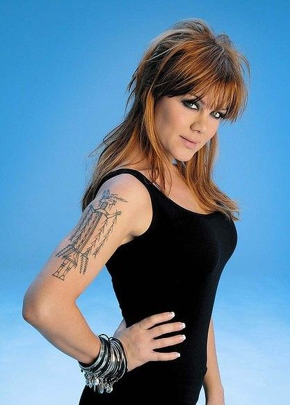Vanessa Amorosi`s Tattoos - Tattoo on Upper Arm