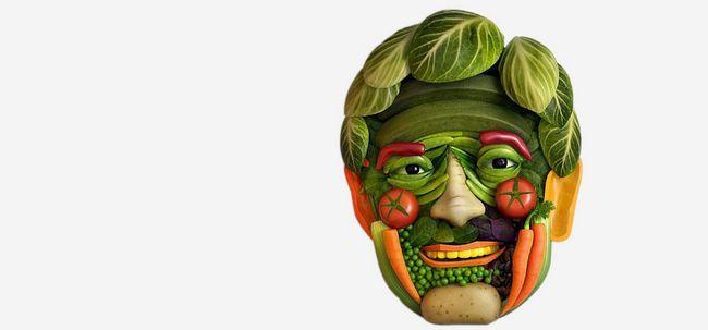 Gráfico vegetais nutrição - como vegetais ajudam a fornecer nutrição?