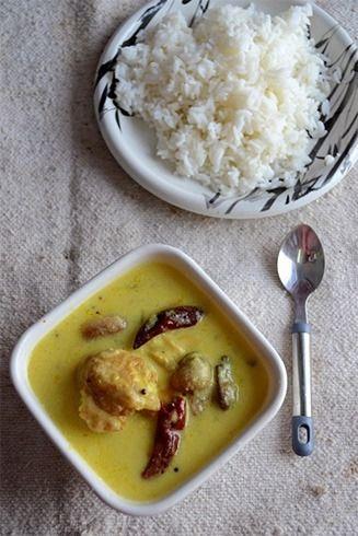Kadhi e arroz