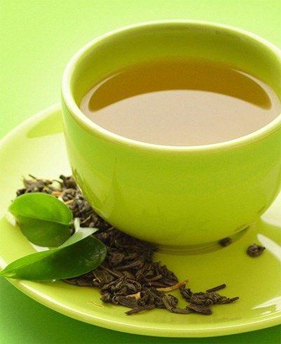 o chá verde sem açúcar