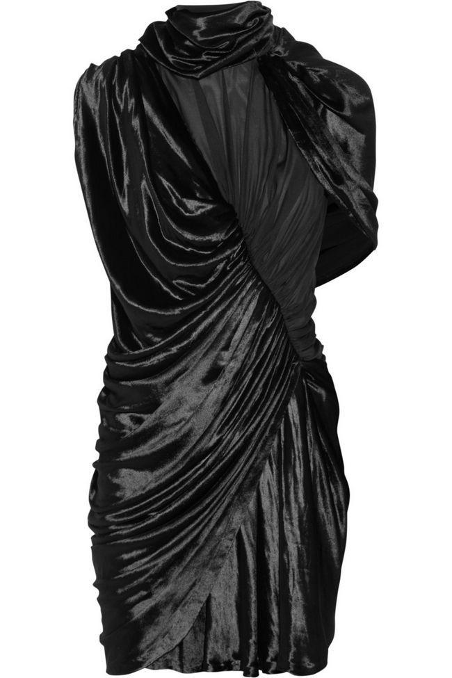 vestido preto Alexander Wang