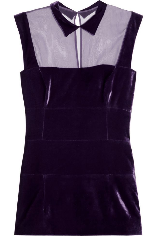 eu`Wren Scott purple top