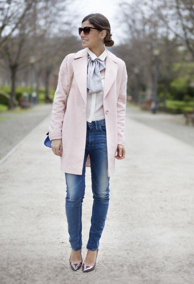 Idea Outfit sofisticado, com bombas de prata