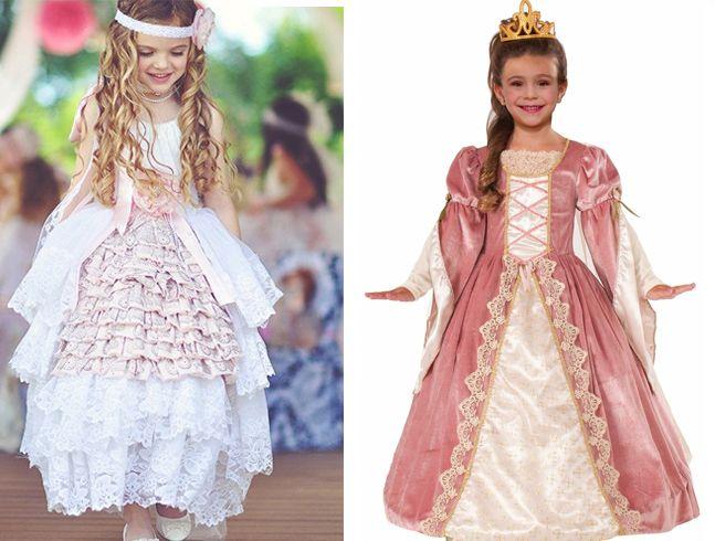 Vestidos vitoriana Para Meninas