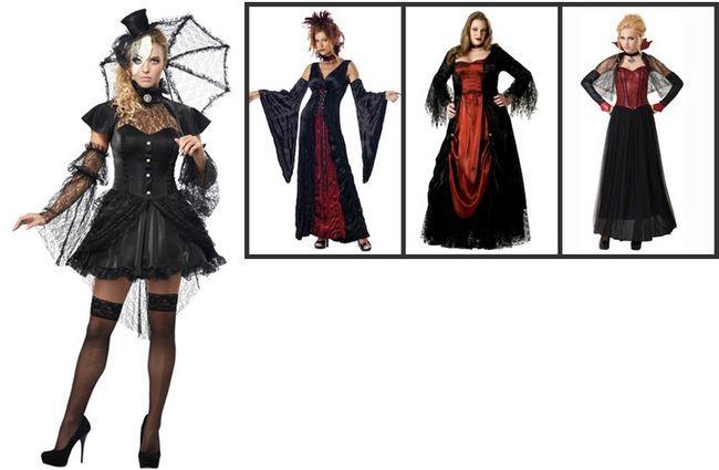 Costumes Era Dia das Bruxas do Victorian