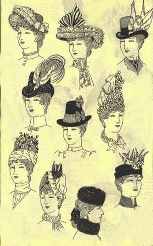 Chapéus do Victorian para Mulheres