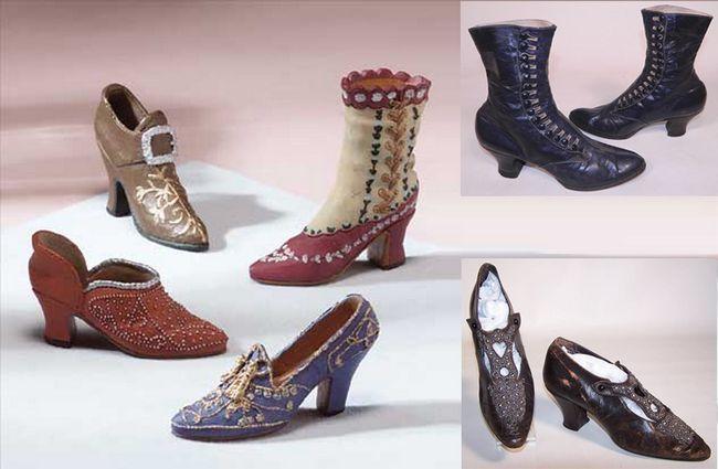 Época Shoes vitorianas