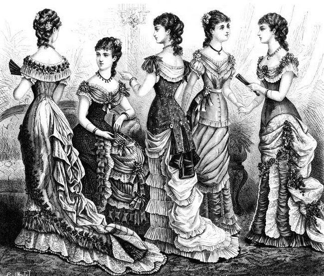 História do vestido de Moda