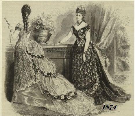 a forma das mulheres da era vitoriana