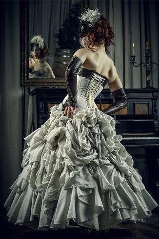 Off-ombro vestido do vintage