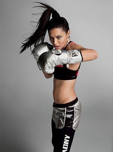 Adriana Lima rotina de treino
