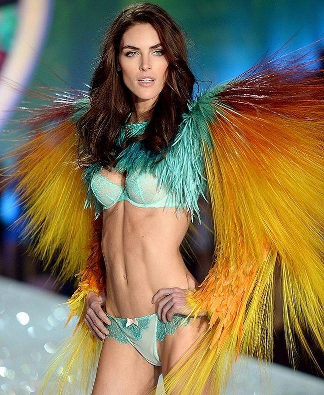 Hilary Rhoda--at-2013-Victoria`s-Secret-Moda-Show