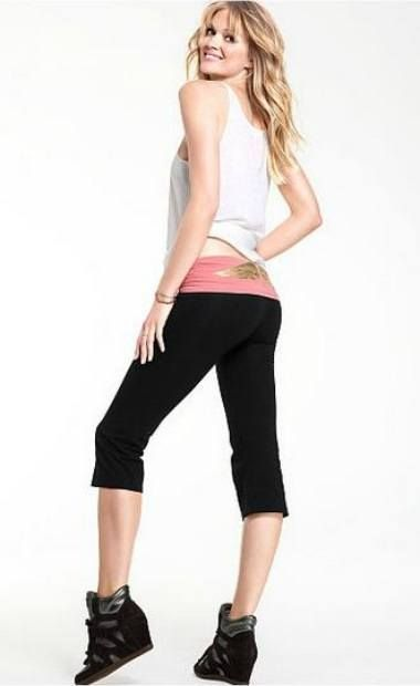 a maioria victoria calças secretos ioga