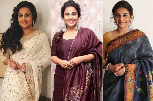 Kahaani 2 guarda-roupa promocional da vidya balan foi tudo sobre sarees e comprimentos de chão