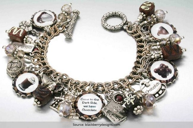 Prata esterlina pulseiras vintage atualmente estamos obcecados com