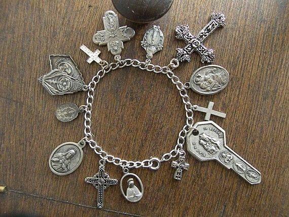 encantos pulseira de prata