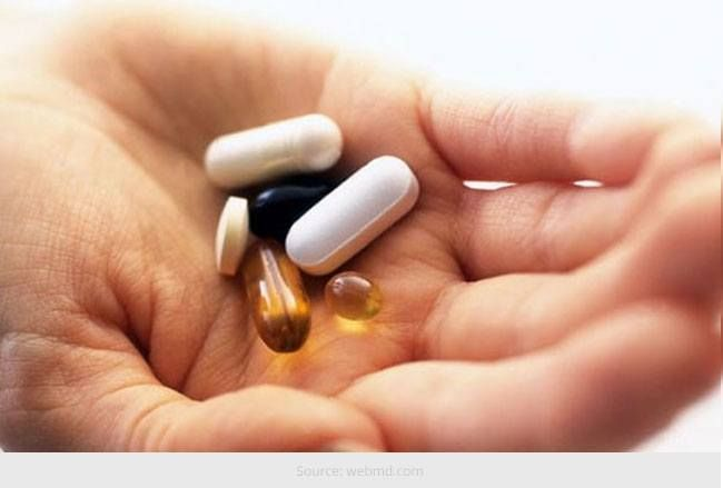 Os suplementos de vitamina a cada vinte e algo precisa