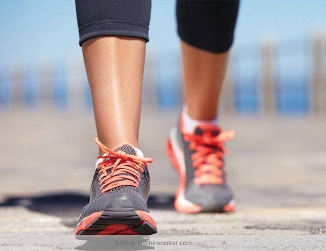 Caminhando para perder peso