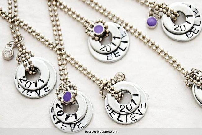 Washer colar tutorial: transformar essas anilhas em neckpieces na moda!