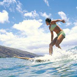 Desportos aquáticos - a maneira mais rápida para queimar calorias