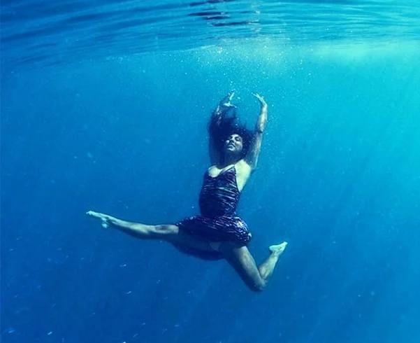 Meditação Na água