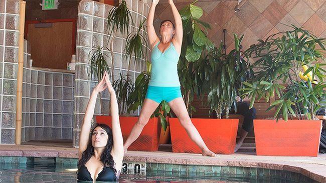 Yoga água