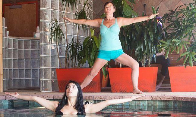 Poses água Yoga