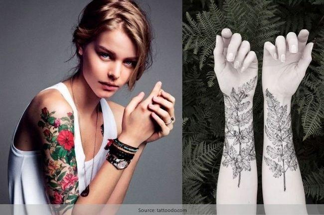 Usar tatuagens botânicos para o amor pela natureza