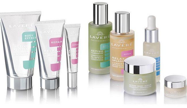 produtos de beleza Lavera