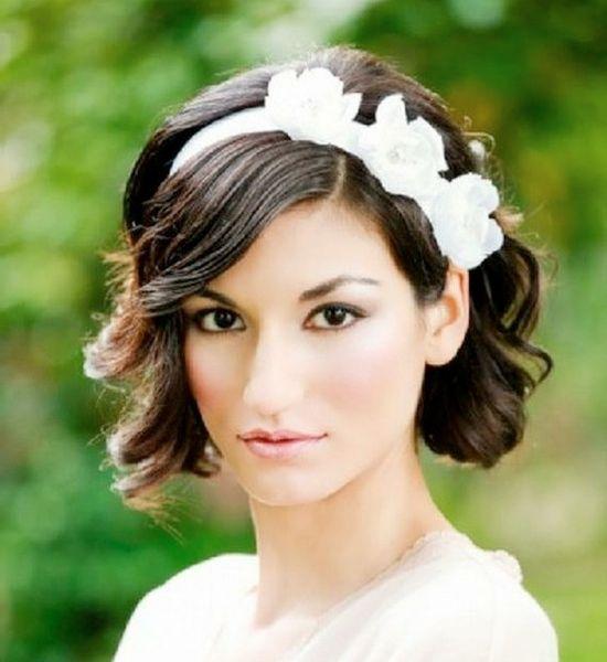 Casamento penteados para cabelo curto você deve amar