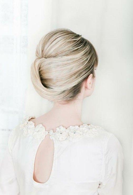 Updos românticos para casamento - Inspiração cabelo