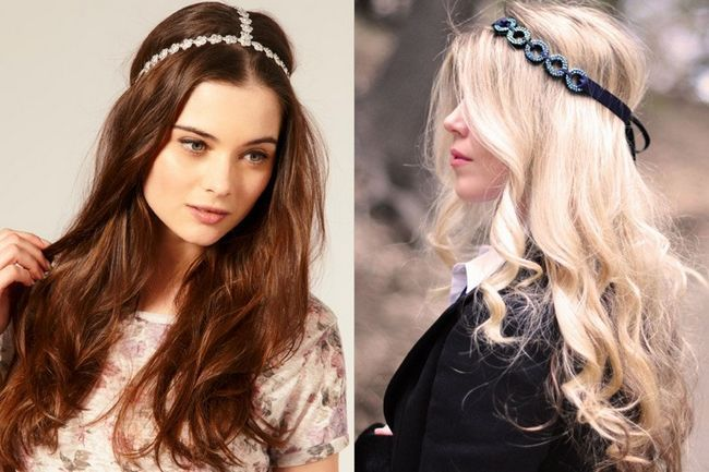 Quais são os diferentes acessórios para o cabelo para o cabelo longo