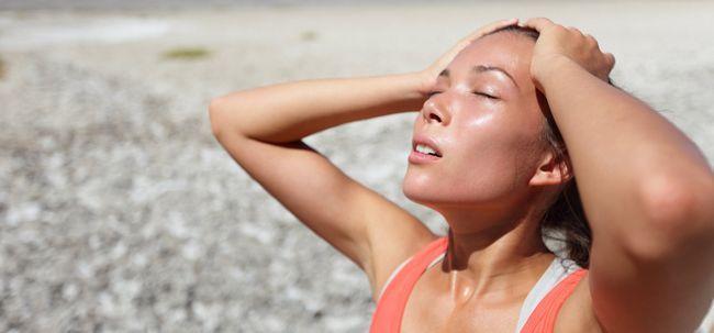 O que acontece 10 minutos antes de um golpe de calor?