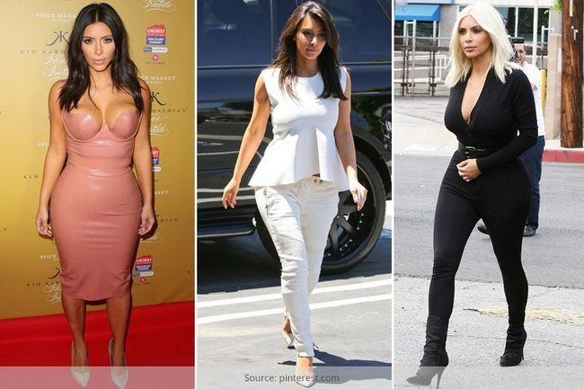 O que tem kim kardashian ensinou todas as mulheres em forma de ampulheta