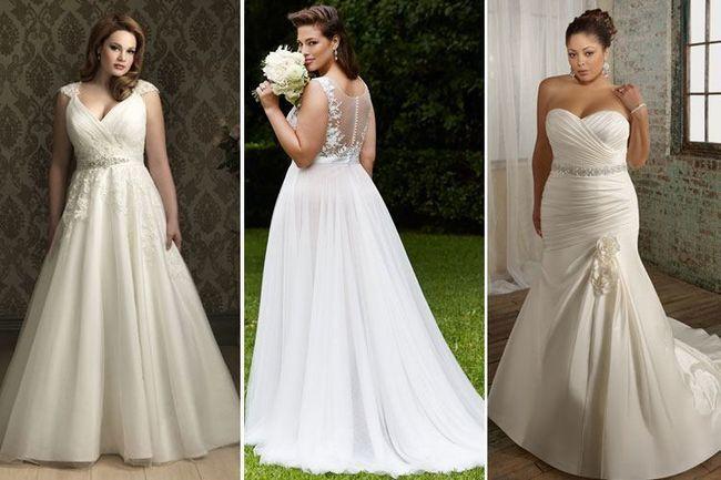 O que ter em mente ao escolher vestidos de noiva plus size