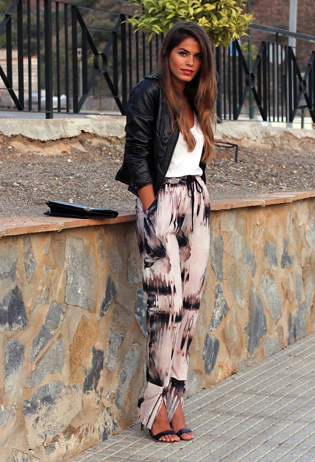 Legal Idea Impresso Outfit para o Outono de 2014