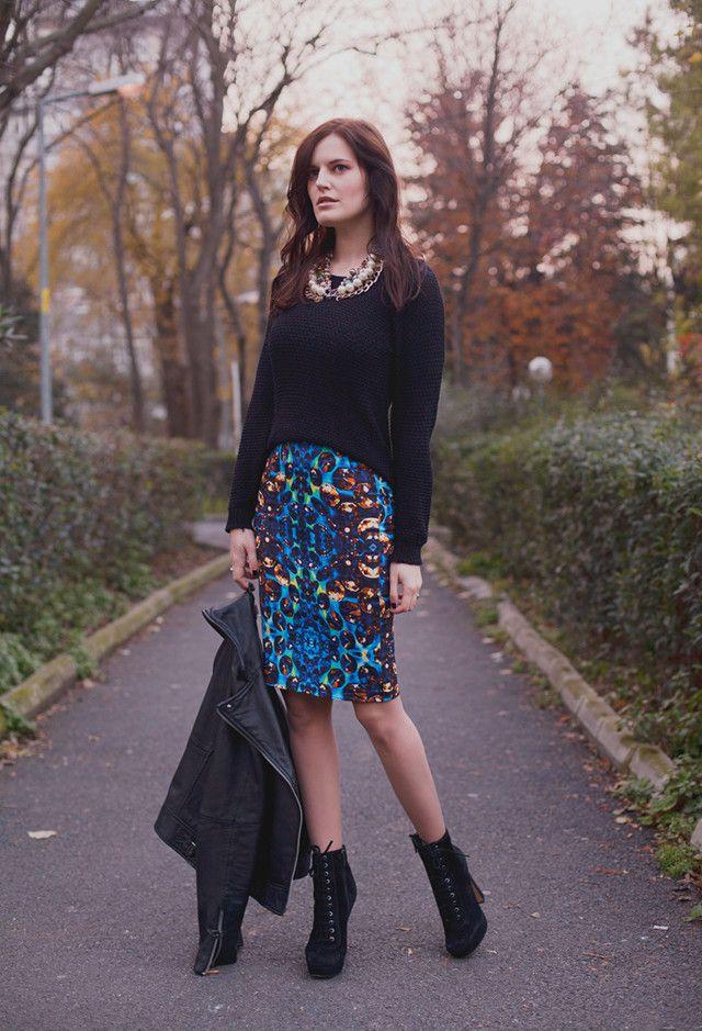 Idea Outfit Edgy para o Outono de 2014